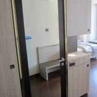 porte, porta specchiata, porta a specchio, porte per interni, porte per hotel