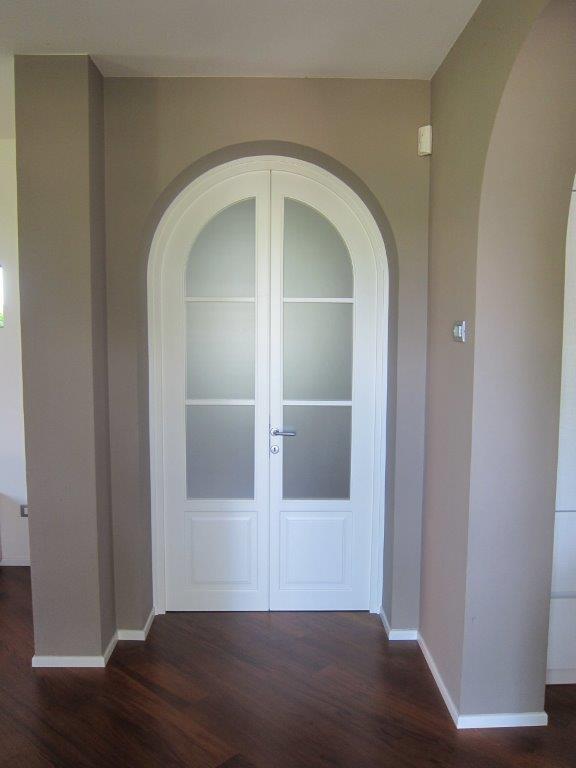 Realizzazioni porte da interno sis produzione porte - Porta ad arco ...